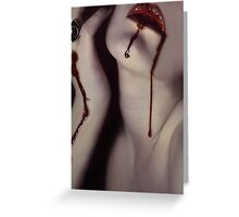 Sanguinary Greeting Card