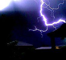 Lightning in Australia by australia9