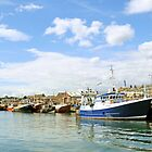 Trawlers at Howth by greywolf26