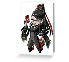 Bayonetta Greeting Card