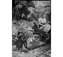 The Basket Weaver with Two Lovers. Photographic Print