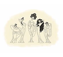 The Muses Photographic Print