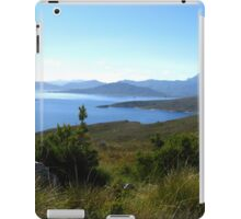 View to Lake Pedder #2 from Red Knoll Lookout iPad Case/Skin