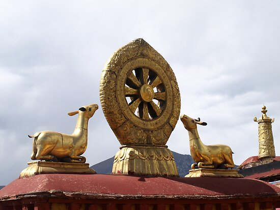 The Dharma Wheel by Louise Levy