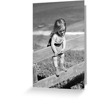 Holding on tight Greeting Card