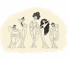 The Muses by LaurasLovelies