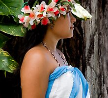 Tahitian girl by Gerard Rotse