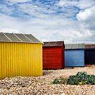 Beach Hut Series 21 by Amanda White