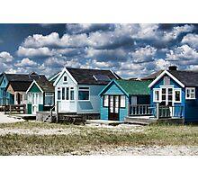 Beach Huts Series 24 Photographic Print