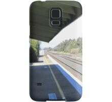 Once Upon a Time!, Old Rail Station, 'Henty', Country Town.  Samsung Galaxy Case/Skin