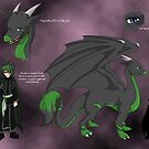 Terav Reference Sheet - Commission for Ryuu Laxx by Bethany Angelstar