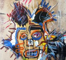 In memory Basquiat Sticker