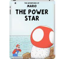 The Adventures of Mario - The Power Star iPad Case/Skin