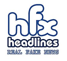 HFX Headlines - Pretend To Wear The Truth Photographic Print