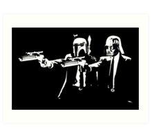 """Darth Vader - Say """"What"""" Again! Version 1 Art Print"""