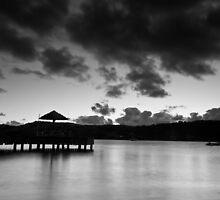 Mono sunset by Nick Sladden