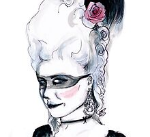Marie Antoinette by burntfeather