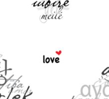 The Universal Language of... Sticker