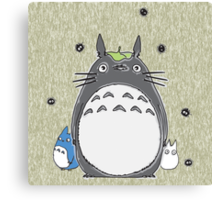 Will you be my neighbor Totoro? Canvas Print