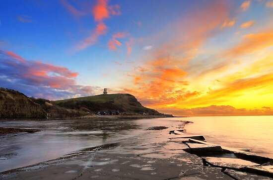 Kimmeridge Bay, Dorset by davidbunting