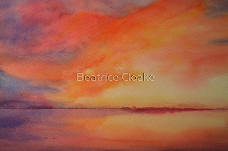Good night Dungeness by Beatrice Cloake Pasquier