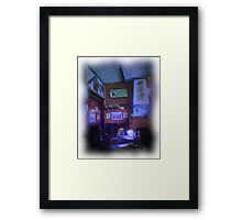 The Penny Farthing Framed Print