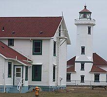 Point Wilson Lighthouse by Jonice