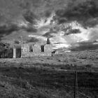 Faith Lost - Church Ruins, Woodchester, South Australia by Mark Richards