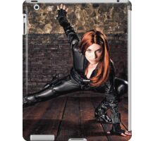 Tanya Wheelock as Black Widow (Photography by Sean William / Dragon Ink Photography) iPad Case/Skin