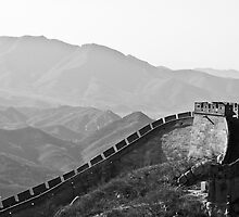 The Great Wall, China by Phill Jenkins