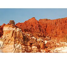 Osprey & Nest, Pindan Cliffs, James Price Point ,Broome WA Photographic Print