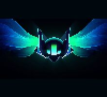DJ Sona Pixel Art - League of Legends by BubblessandMia