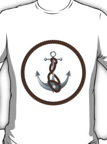 Anchor with rope 2 T-Shirt