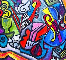 Musical Instruments( ORIGINAL SOLD) by Ming  Myaskovsky