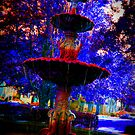 the glowing fountain by Shannon Byous Ruddy