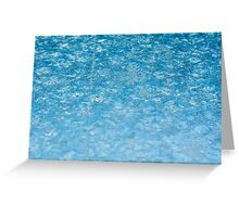 Winter frosted glass 2 Greeting Card