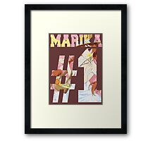 Marika Best Girl Framed Print