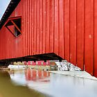 Covered Bridge at Bridgeton by Kenneth Keifer