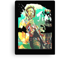 jimi guitar Canvas Print