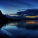 Night Fishing, Sawtell Beach, NSW by Wendy  Meder