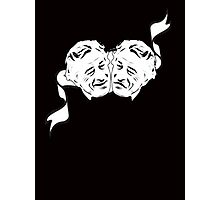 Robert De Niro Comedy and Tragedy Mask -- FUNNY Photographic Print