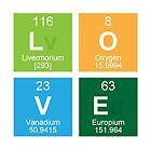 Love Periodic Table Elements by Edward Fielding