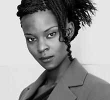 Portrait of Kenyan Woman 2 by akamweru