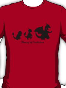 Darwin - Theory Evolution - Charmander - pokemon T-Shirt