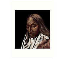 Two Strike, Sioux Art Print