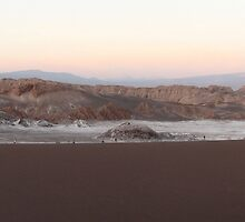 Moon Valley at Sunset by kjcasey
