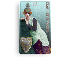 Tarot: The Empress (III) Metal Print