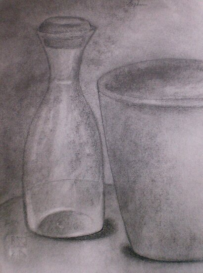 Carboncino Study by Sophia Spencer