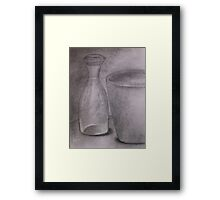 Carboncino Study Framed Print