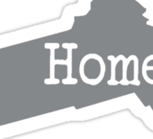 Massachusetts Home Pride MA Boston Sticker
